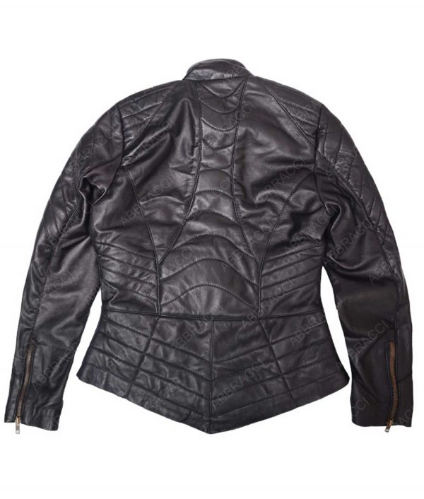The Flash Gypsy Jessica Camacho Black Leather Costume Jacket