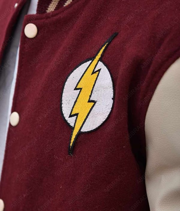 Red Logo The Flash Jacket