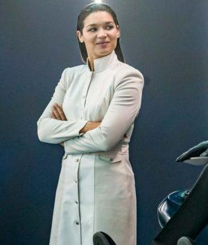 The Flash Kim Mechanic White Jacket