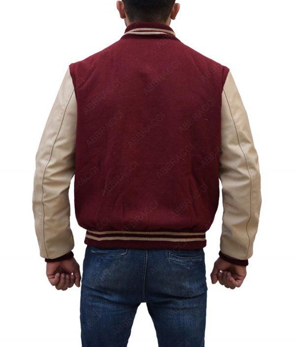 The Flash Red Varsity Jacket
