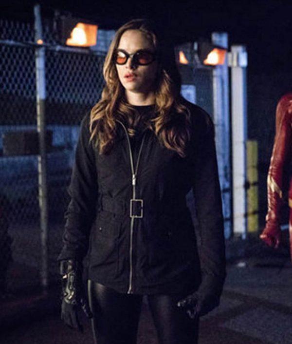 The Flash Season 05 Killer Frost Black Jacket