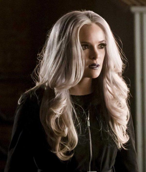 The Flash Season 05 Danielle Panabaker Killer Frost Black Jacket