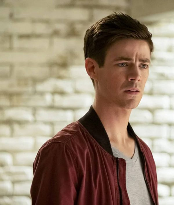 The Flash Season 06 Grant Gustin Barry Allen Red Bomber Jacket