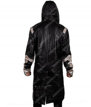 Chris Klein The Flash The Death Of Vibe Cicada Leather Hooded Coat