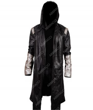 The Flash The Death Of Vibe Cicada Leather Coat