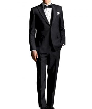 The Great Gatsby Black Tuxedo Suit