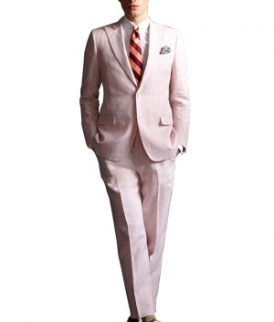 Leonardo DiCaprio The Great Gatsby Pink Suit
