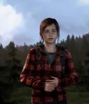 The Last Of Us Part II Ellie Red Flannel Hoodie