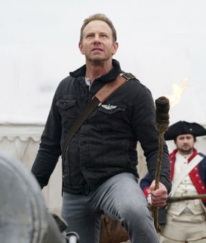 The Last Sharknado Its About Time Ian Ziering Fin Black Jacket