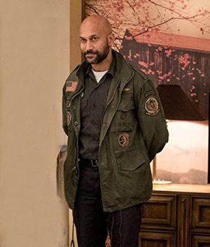 Coyle The Predator Keegan Michael Key Green Cotton Jacket