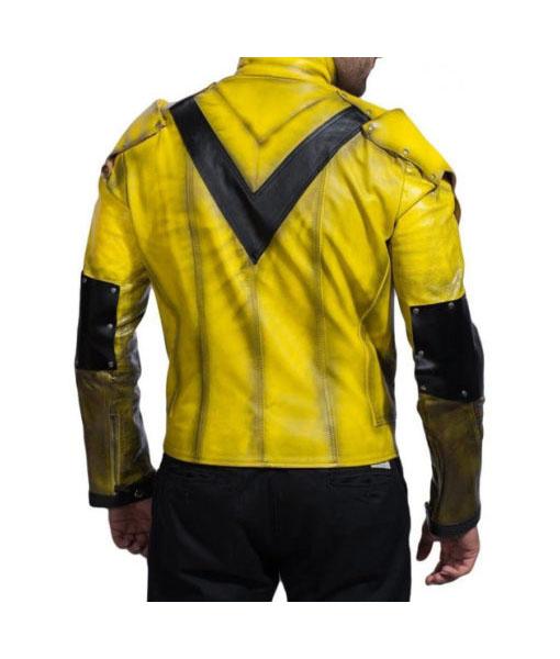 The Reverse Flash Eobard Thawne Yellow Leather Jacket