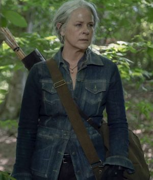 The Walking Dead Season 10 Melissa McBride Denim Jacket