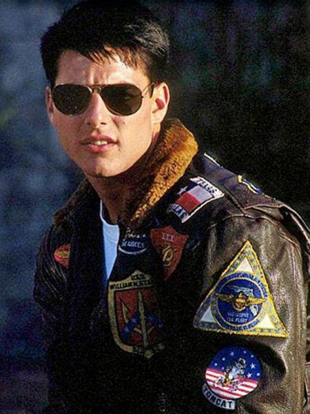 Tom Cruise Maverick Top Gun Black Jacket