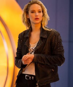 Jennifer Lawrence X-Men Apocalypse Mystique Raven Leather Black Jacket