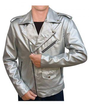 QuickSilver X-Men APocalypse Evan Peters Motorcycle Leather Jacket
