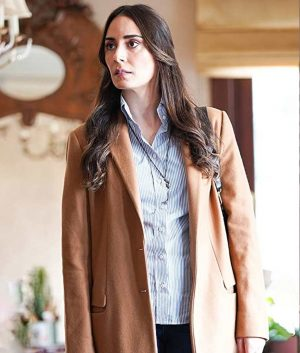 Melisa Sözen Alef Brown Wool-Blend Yasar Trench Coat