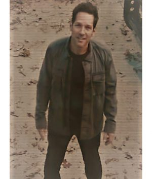 Paul Rudd Avengers Endgame Scott Lang Ant-man Cotton Jacket