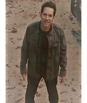 Paul Rudd Avengers Endgame Scott Lang Ant-man Cotton Jacket
