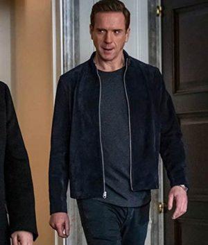 Billions Season 05 Bobby Axelrod Suede Leather Jacket