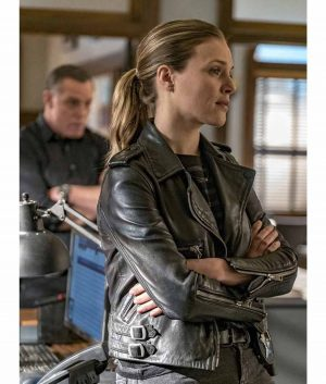 Chicago P.D. S04 Leather Jacket