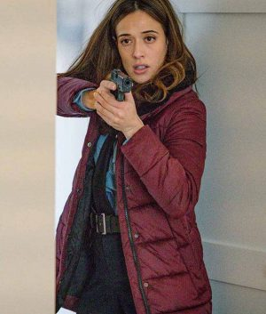 Kim Burgess Chicago P.D. S07 Ep13 Coat