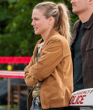 Chicago P.D. S07 Ep7 Hailey Upton Bomber Jacket