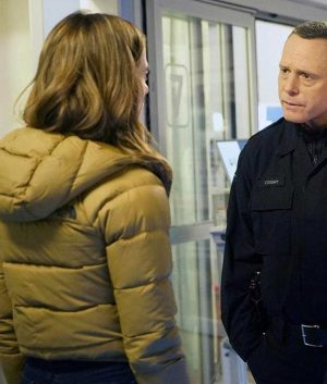 Chicago P.D. S07 Kim Burgess Puffer Jacket