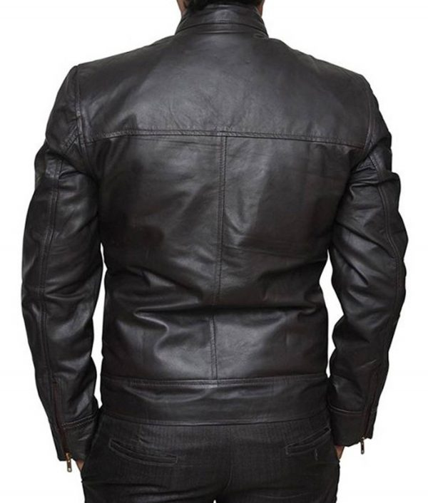 Chicago PD Jason Beghe Brown Leather Jacket