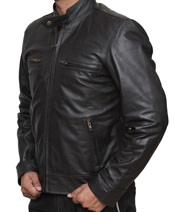 Chicago PD Jason Beghe Leather Jacket