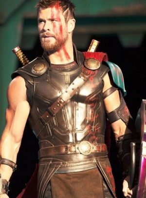 Chris Hemsworth Thor Ragnarok Armor Leather Vest