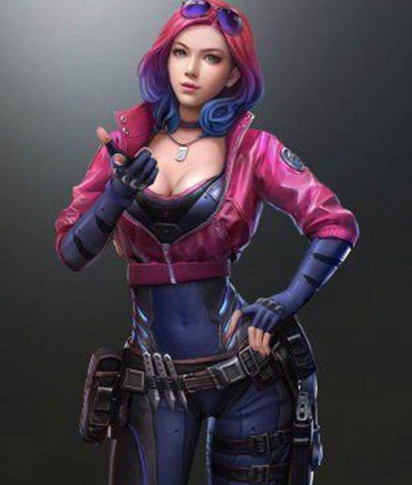 Cyberpunk 2077 Kira Madroxx Leather Jacket