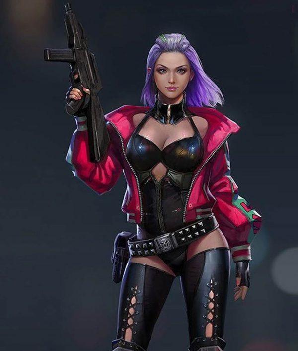 Cyberpunk 2077 Kira Madroxx Bomber Jacket
