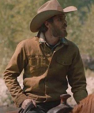 Brown Yellowstone Lee Dutton Jacket