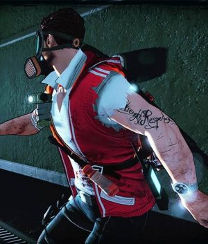Dead Island 2 Cliff Calo Vest With Hood