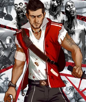 Dead Island 2 Cliff Calo Red Vest Hood