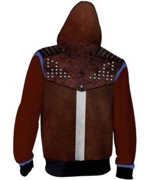 Dying Light 2 Hoodie With Studs