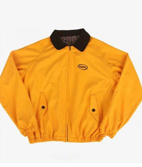 Jungkook Yellow Bomber Jacket