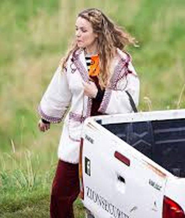 Eurovision Song Contest Sigrit Ericksdottir White Coat