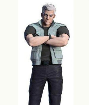Ghost In The Shell Sac_2045 Batou Grey Vest
