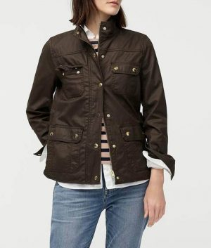 Good Girls Season 03 Christina Hendricks Beth Boland Brown Field Brown Jacket