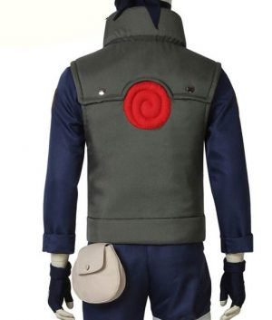 Naruto Kakashi Hatake Green Unisex Vest