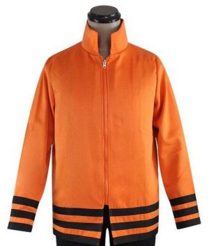 Naruto Uzumaki 7th Hokage Orange Jacket