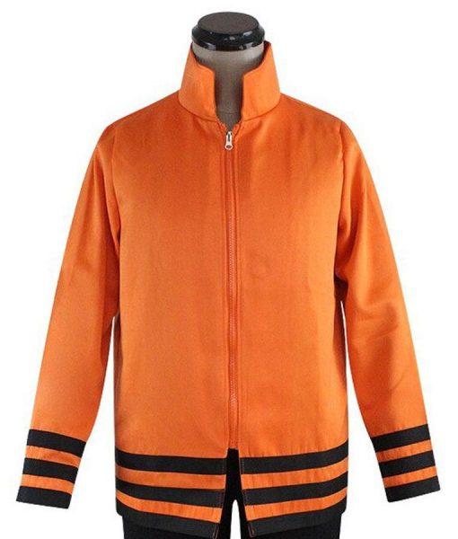 Naruto Uzumaki 7th Hokage Orange Jacket