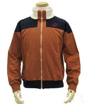 Naruto Uzumaki Cospa Blouson Bomber Brown Jacket