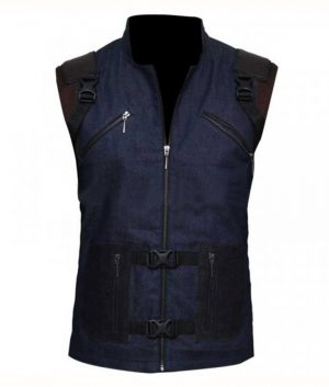 Guardians Of The Galaxy Vol 2 Rocket Raccoon Blue Tactical Army Vest