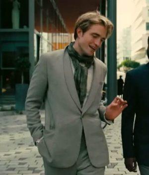 Tenet Robert Pattinson Grey Suit