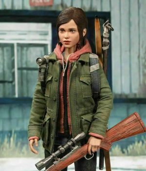 Military Green The Last Of Us Part II Ellie Jacket