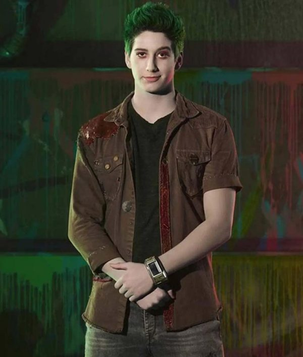 Milo Manheim Brown Denim Zed Zombies 2 Jacket