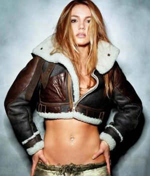 Britney Spears Shearling Jacket