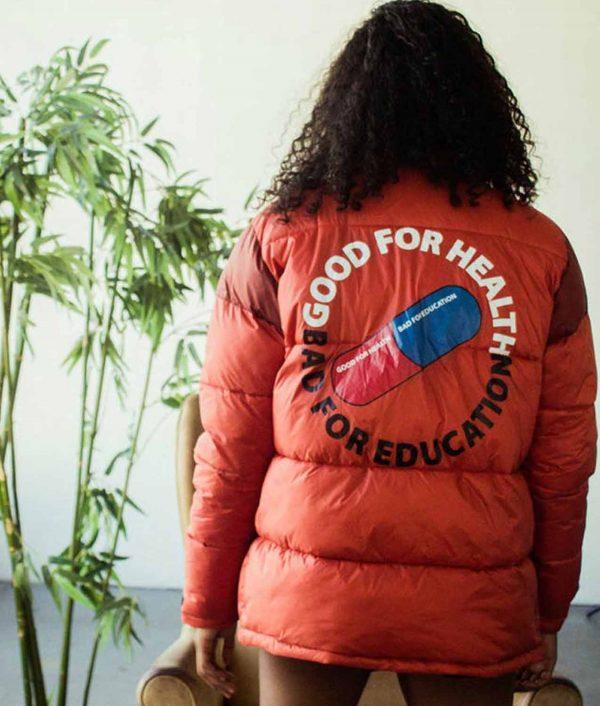 Good For Health Bad For Education Akira Jacket
